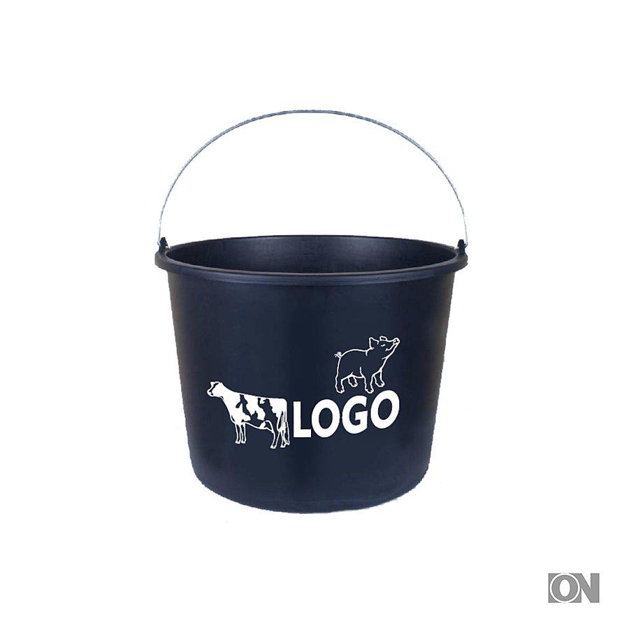 20 liter eimer aus kunststoff eimer messbecher werbeartikel. Black Bedroom Furniture Sets. Home Design Ideas