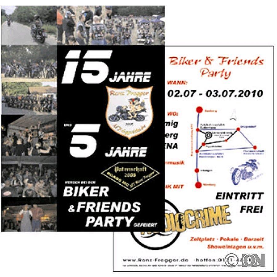 Flyer Din A6 Postkartengrösse Geschäftspapier