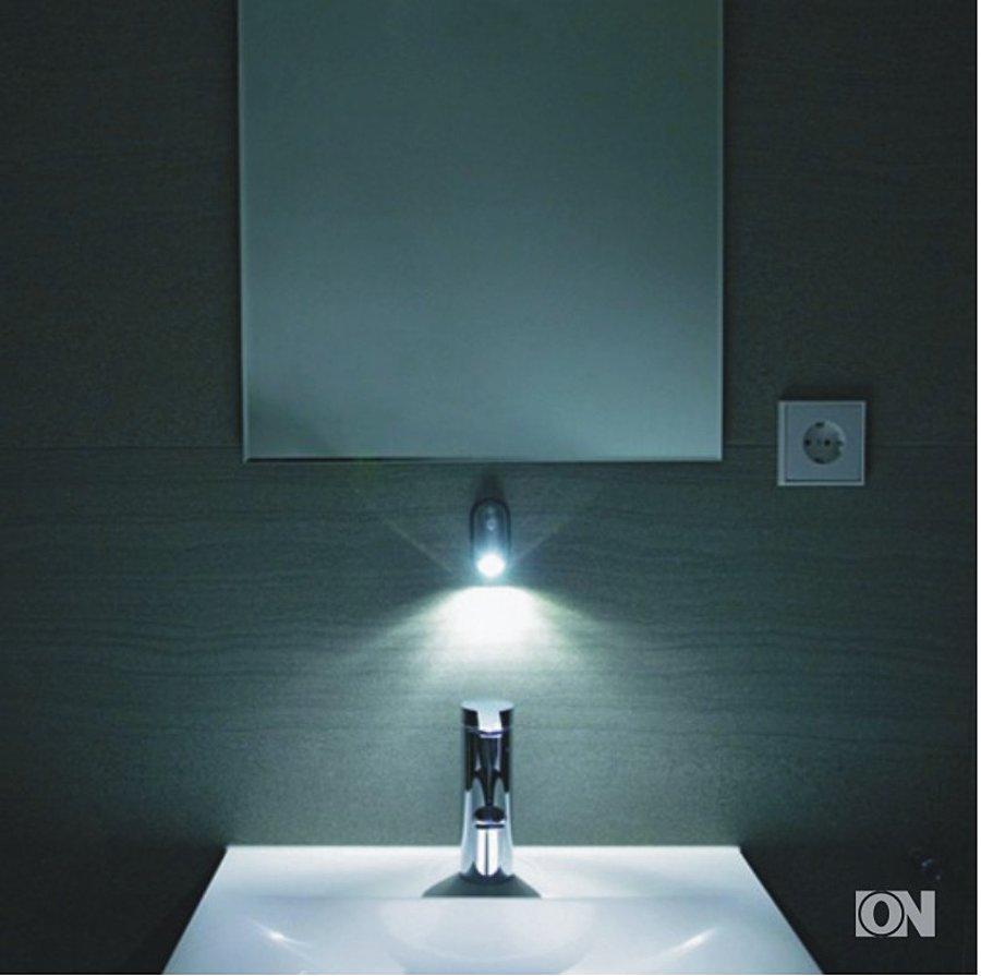 led leuchte mit bewegungssensor tischlampe leuchte lampen elektroartikel werbeartikel. Black Bedroom Furniture Sets. Home Design Ideas