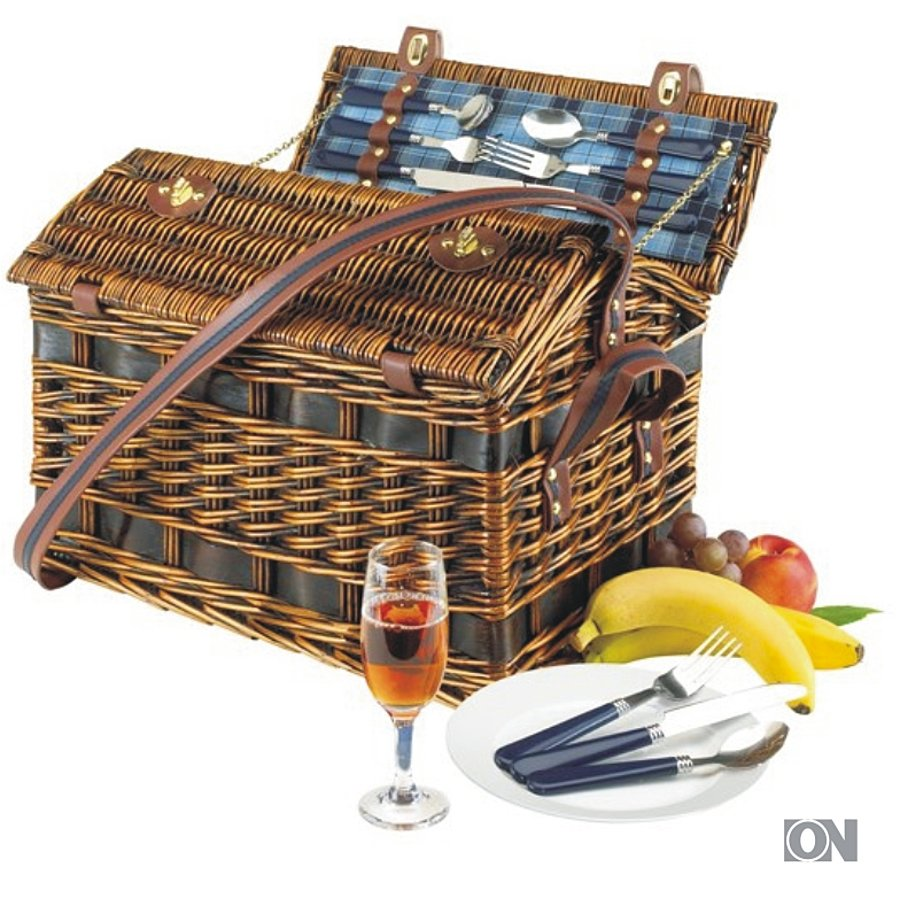 picknickkorb f r 4 personen geschenksets werbeartikel. Black Bedroom Furniture Sets. Home Design Ideas