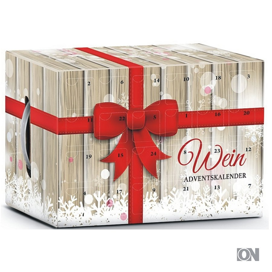 Geschenkset Wein-Adventskalender - Weihnachtsgeschenke Themen