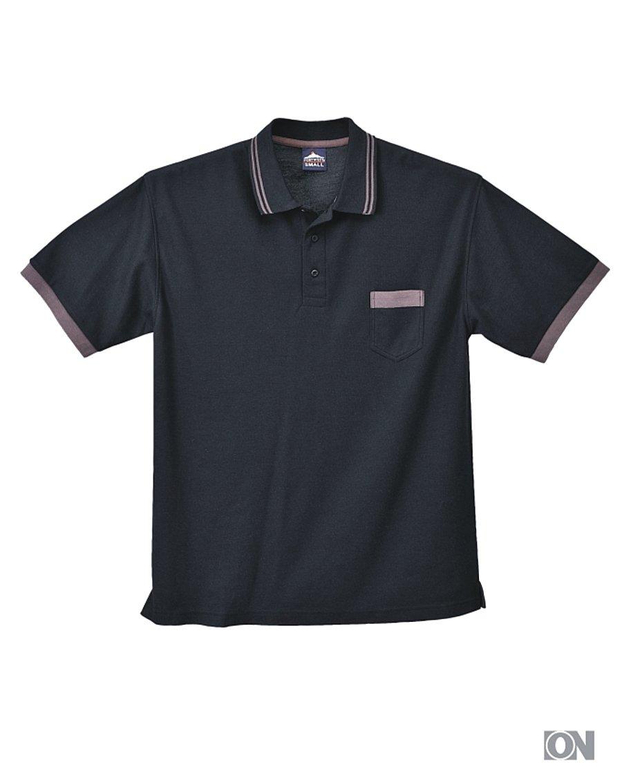 f298f51f6873 Poloshirt mit Brusttasche, Gr. S bis 3XXL - Poloshirt Werbetextilien