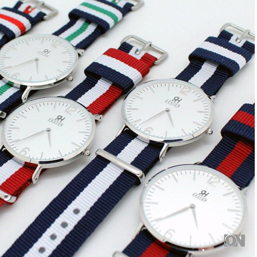 strap watch extra schmal armbanduhr uhren werbeartikel. Black Bedroom Furniture Sets. Home Design Ideas