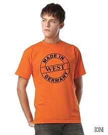 T-Shirt Made in West Germany  orange