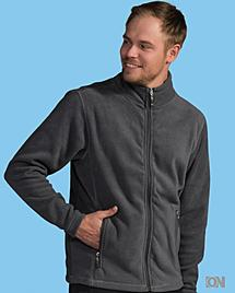 Herren Full Zip Fleecejacke