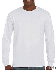 Herren Langarm T-Shirt Ultra in weiß
