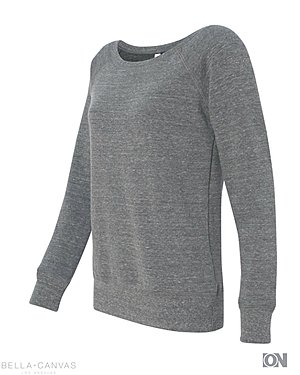Damen Fleece Wideneck Sweatshirt