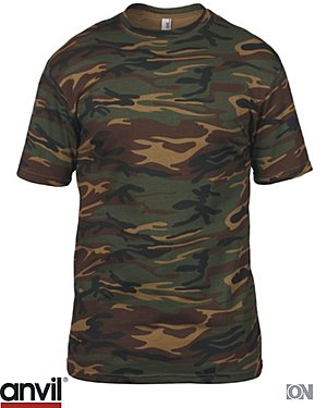 Adult Camouflage Shirt