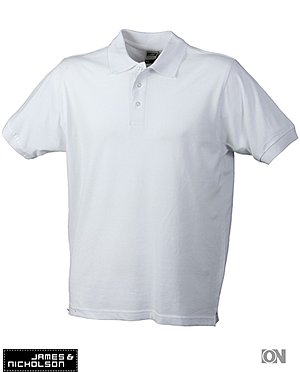 Classic Poloshirt in weiß